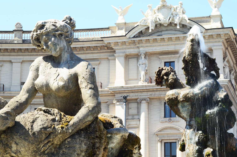fontana delle naiadi roma