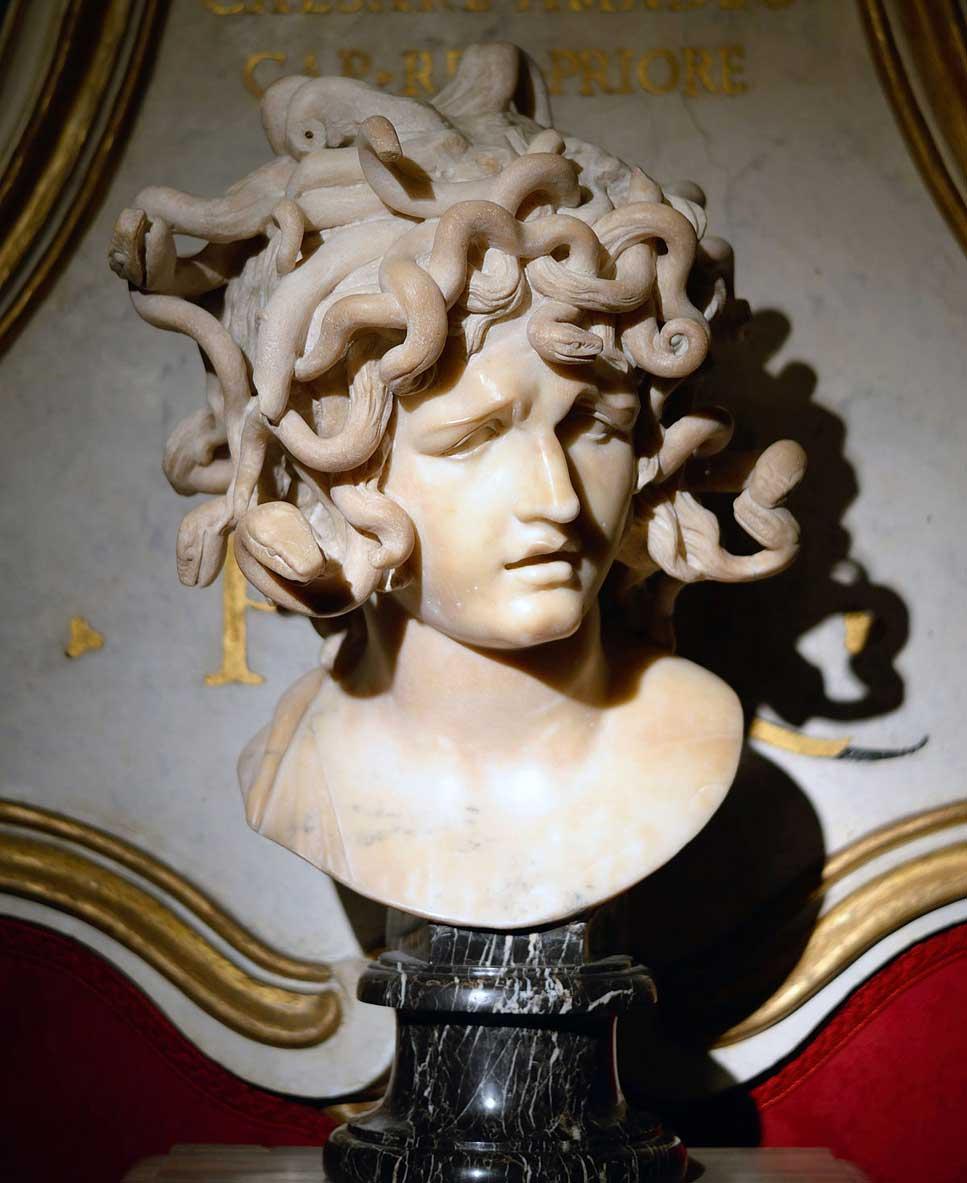 Testa di Medusa di Bernini