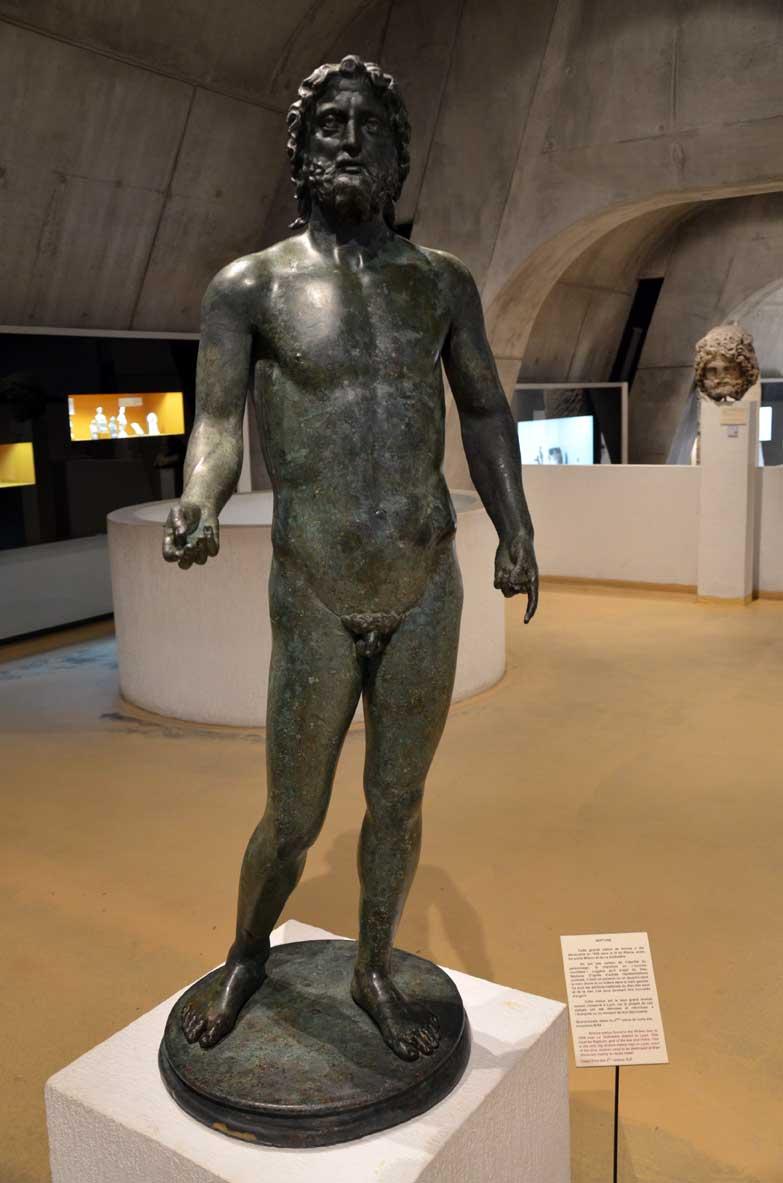 bronzi museo romano di lione