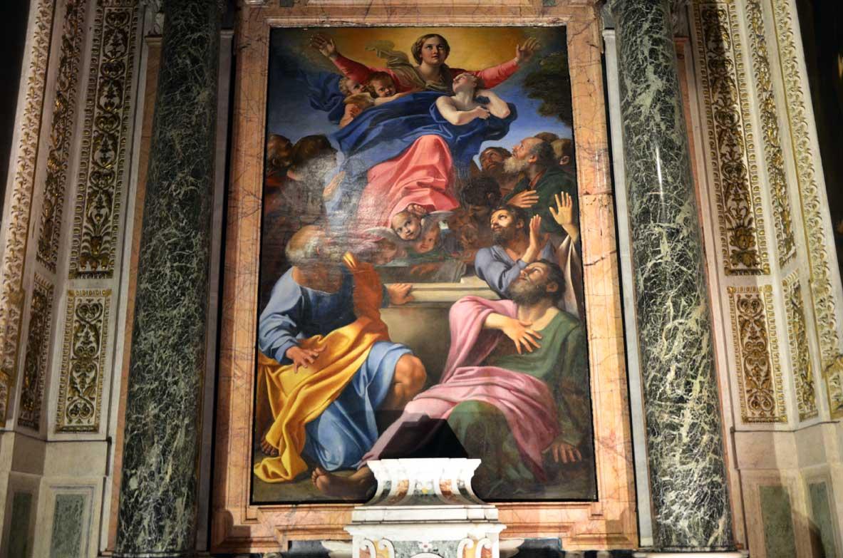 assunzione della Verginedi Annibale Carracci