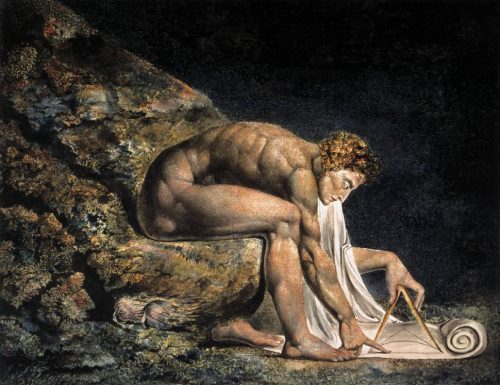 newton william blake artista