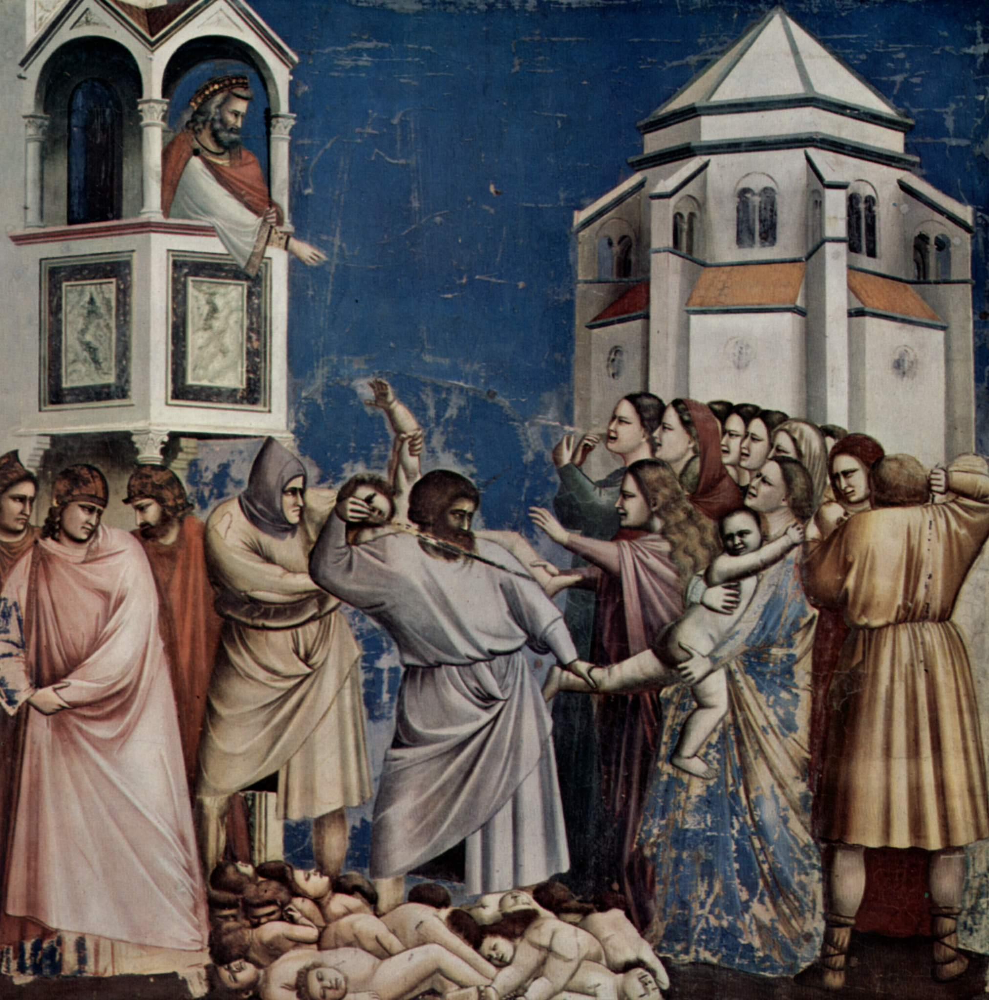 Strage degli innocenti, Cappella degli Scrovegni, Padova