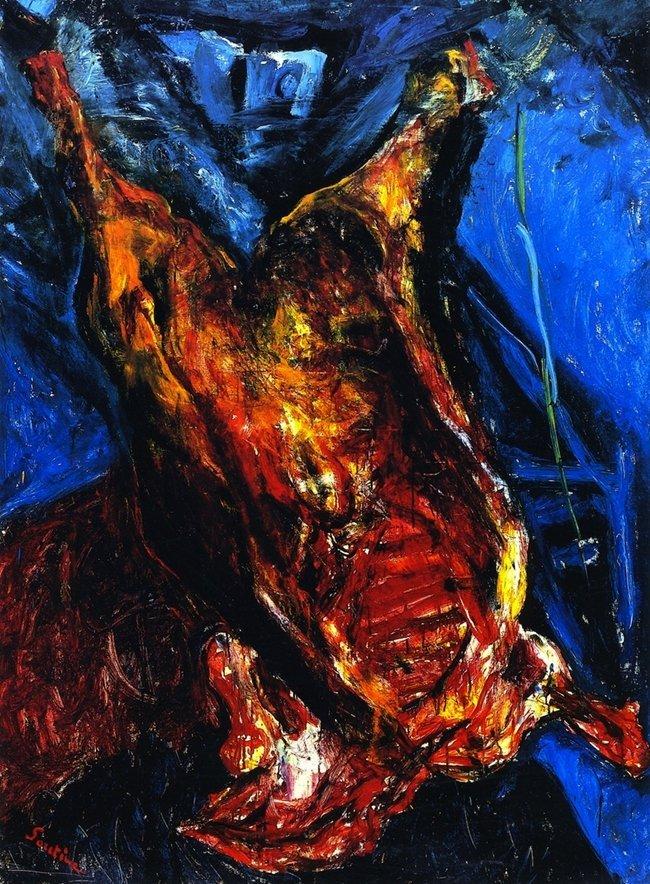 Carcassa di mucca soutine