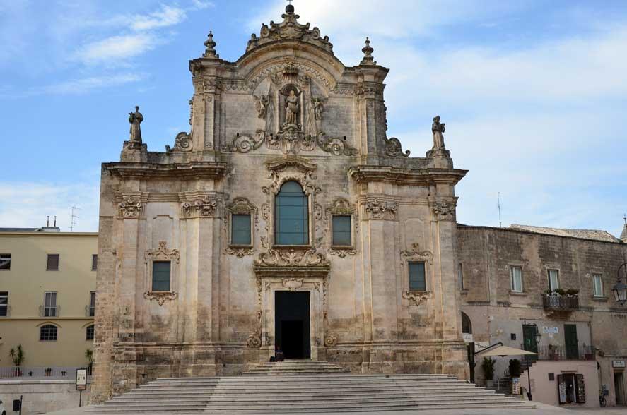 le chiese più importanti di Matera