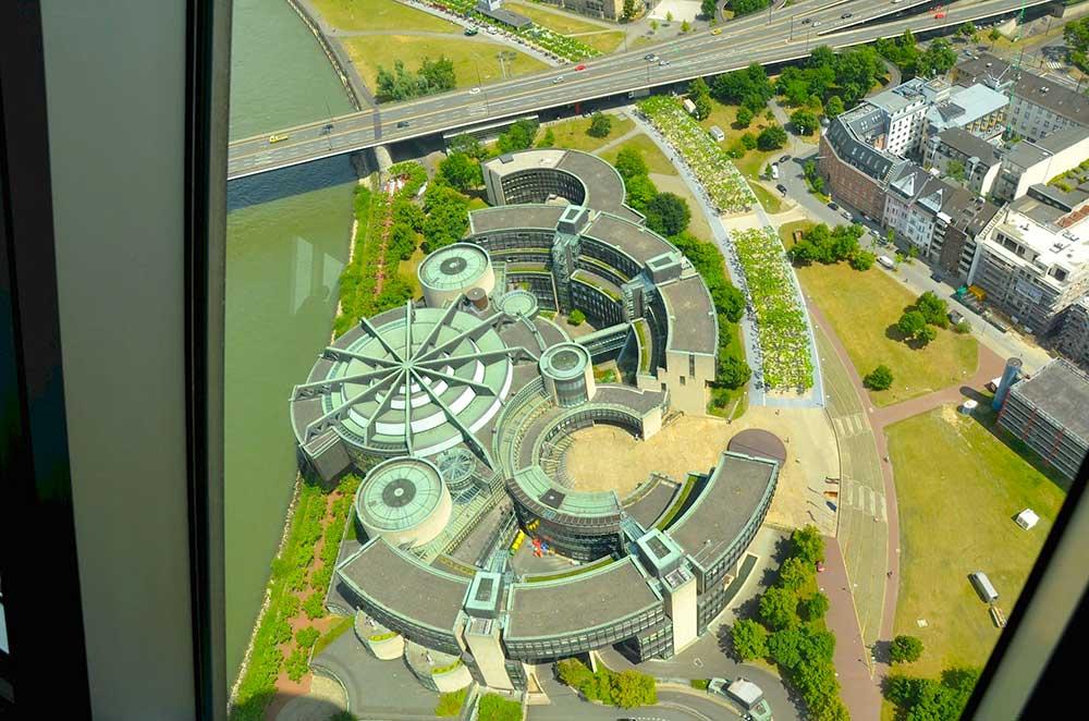 Visuale dalla Torre della televisione