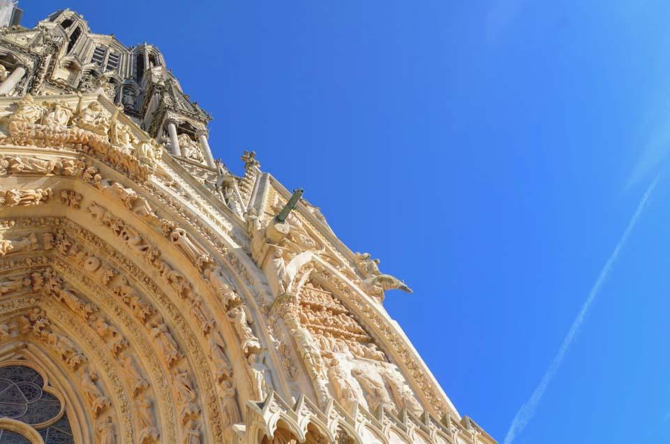 Decorazione della cattedrale di reims
