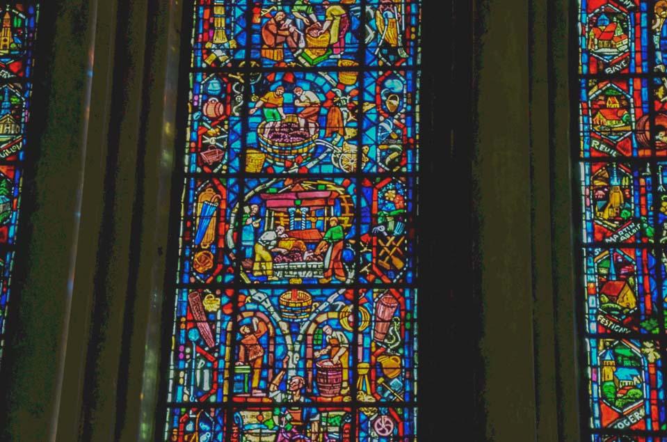 le vetrate della cattedrale di reims