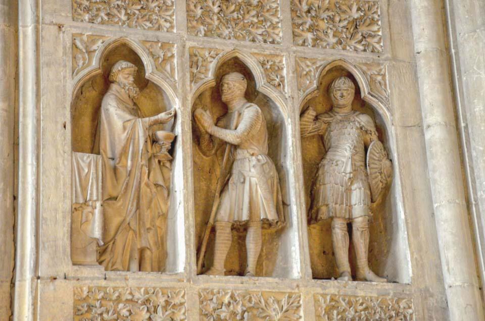 cattedrale di reims particolare medievale