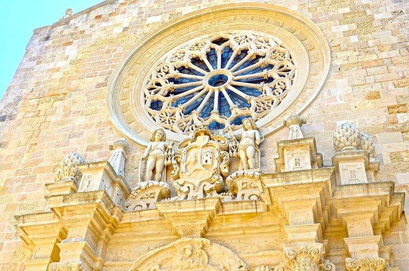 rosone della cattedrale