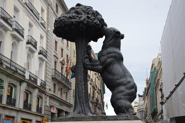 l'orso e il corbezzolo, simboli di Madrid