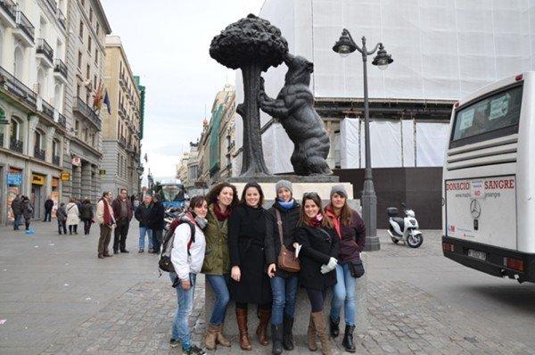 Avventure e disavventure di otto ragazze a Madrid