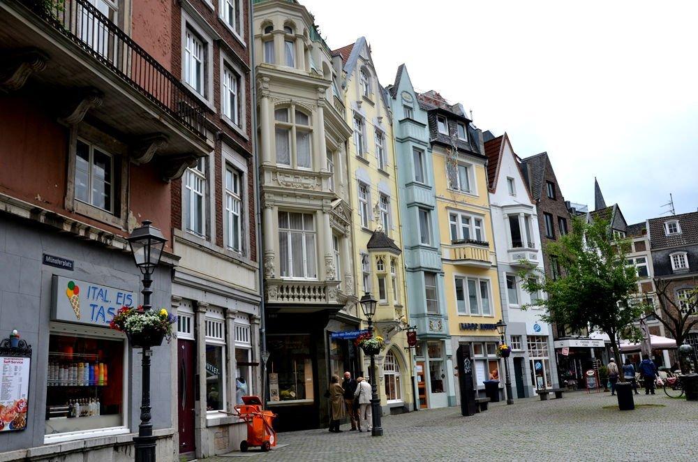 Case nel centro di Aachen