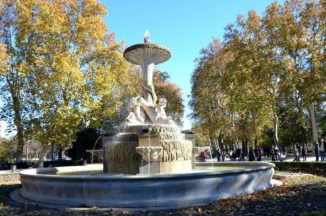 Fontana al parco El Retiro