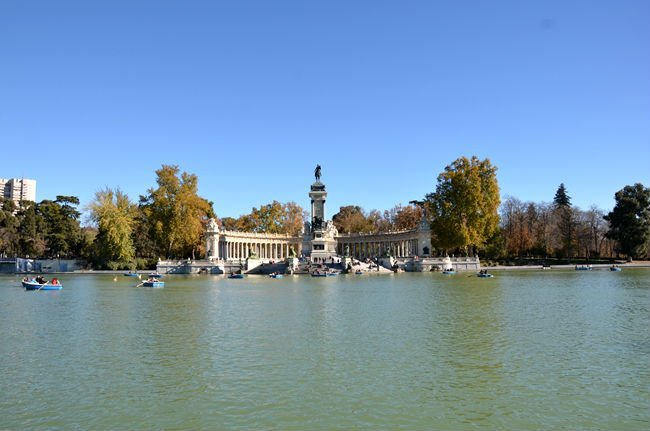 Monumento ad Alfonso XII al parco del Buen Retiro