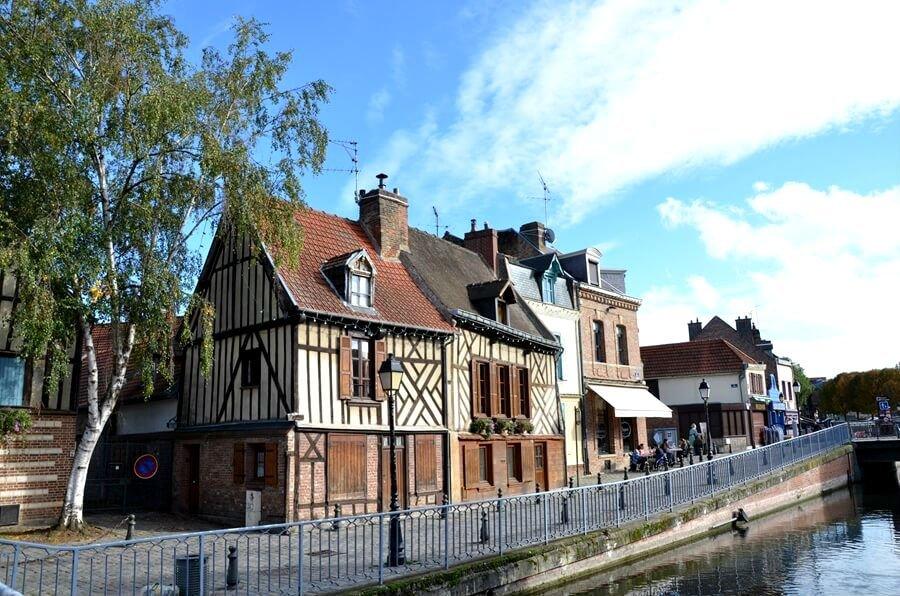quartiere Saint Leu ad Amiens