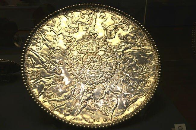 piattone di Mildenhall opere del british museum