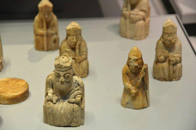 scacchi dell'isola Lewis british museum