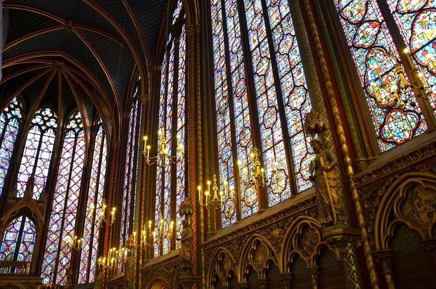 vetrate della sainte chapelle a paris