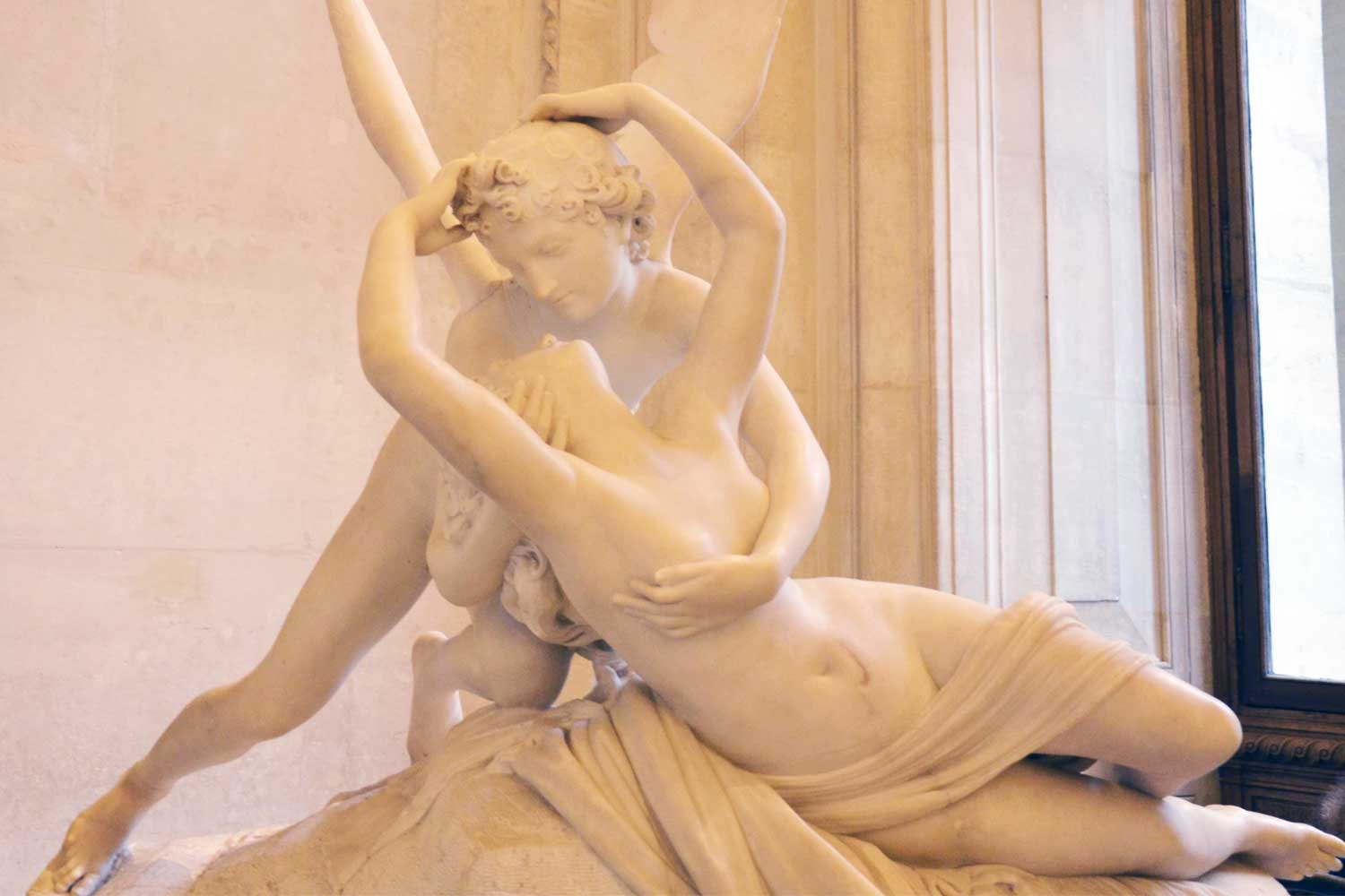 Everything you should know about Eros and Psyche, Canova's masterpiece