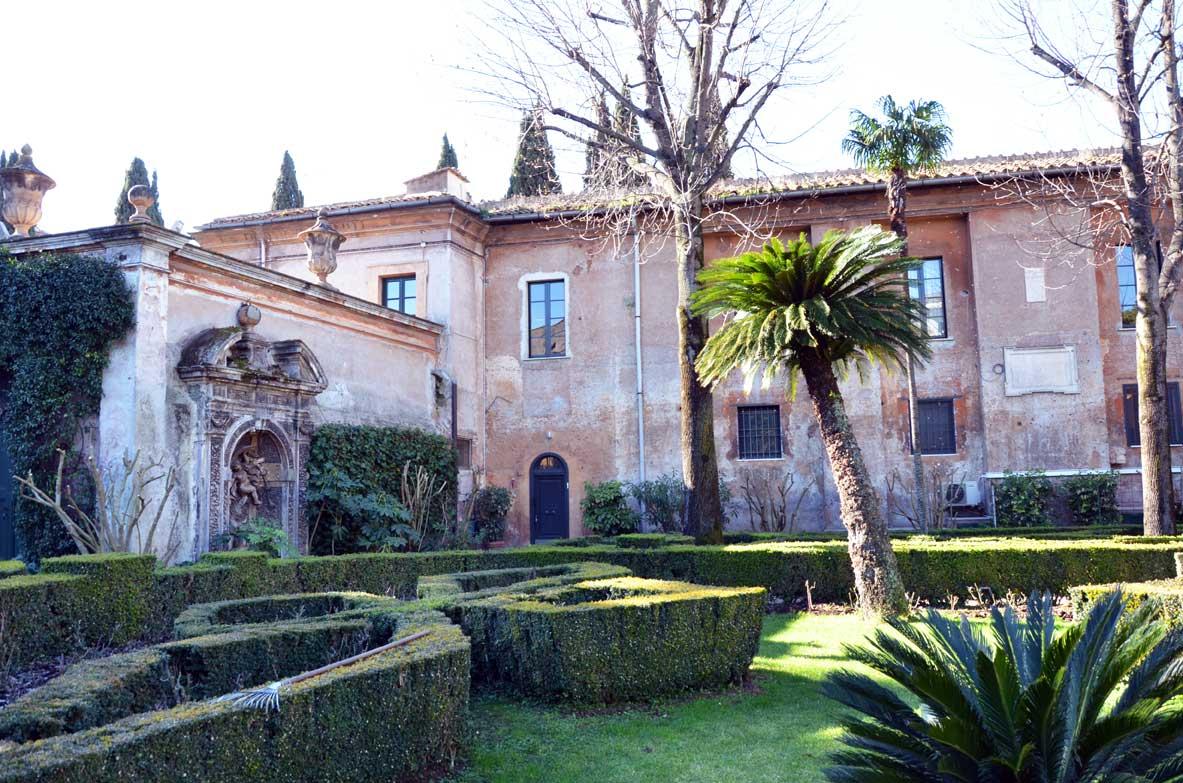 La villa del priorato di Malta ed il giardino