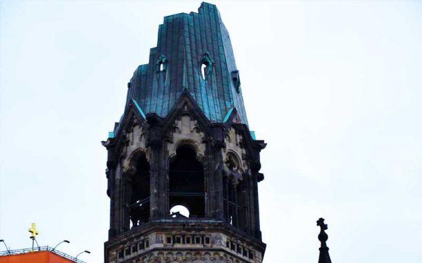Cosa visitare assolutamente a Berlino, la chiesa della memoria, un monito contro la guerra