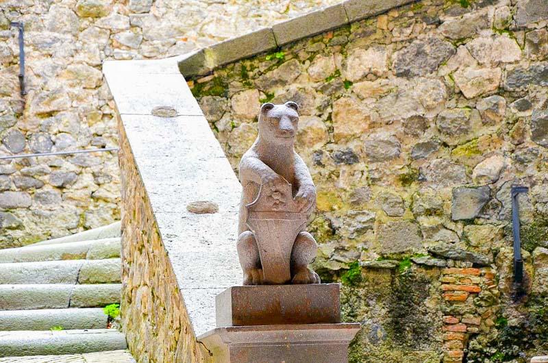 il castello di bracciano simbolo degli orsini
