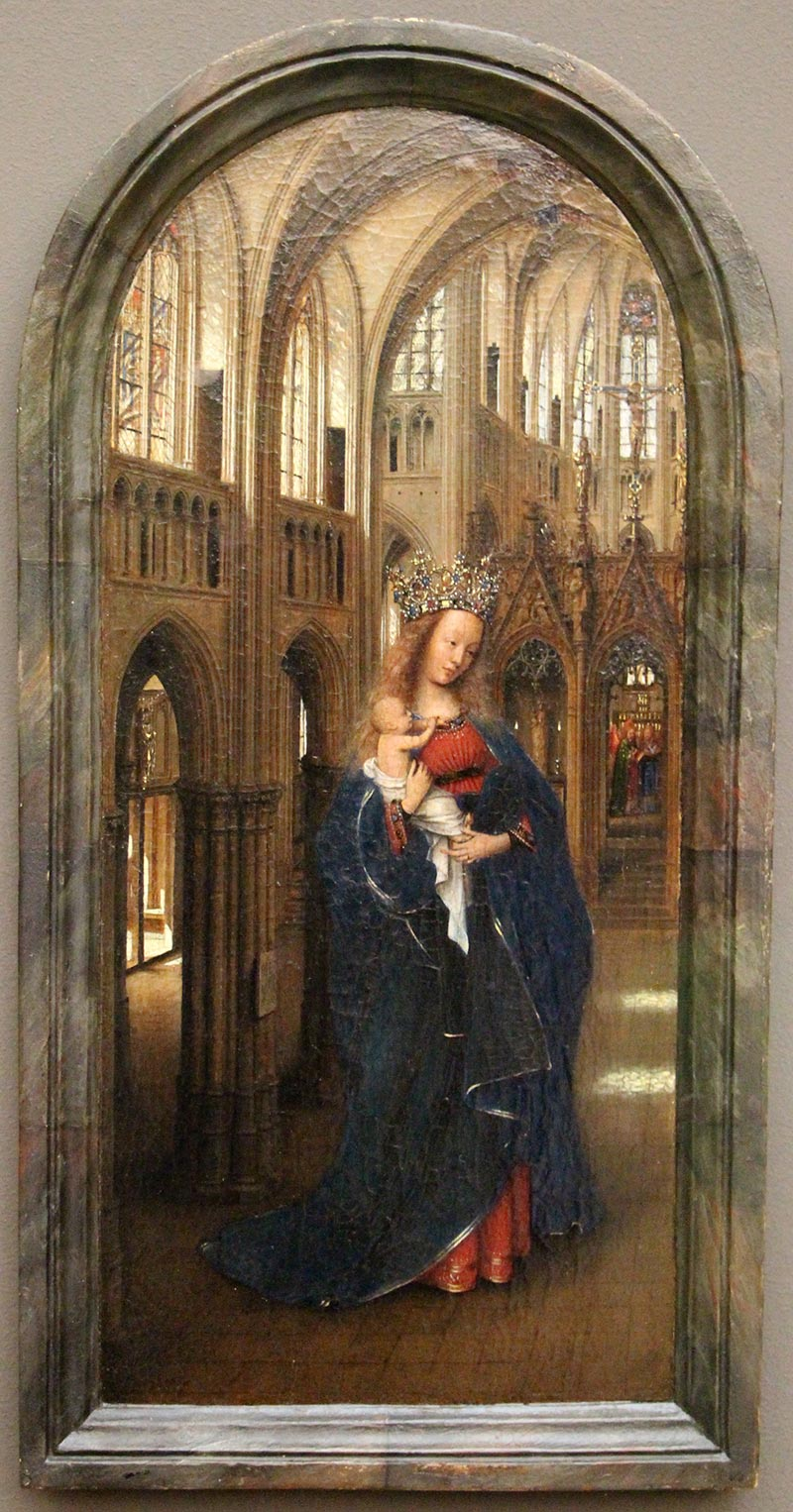 madonna in chiesa alla Gemaldegalerie