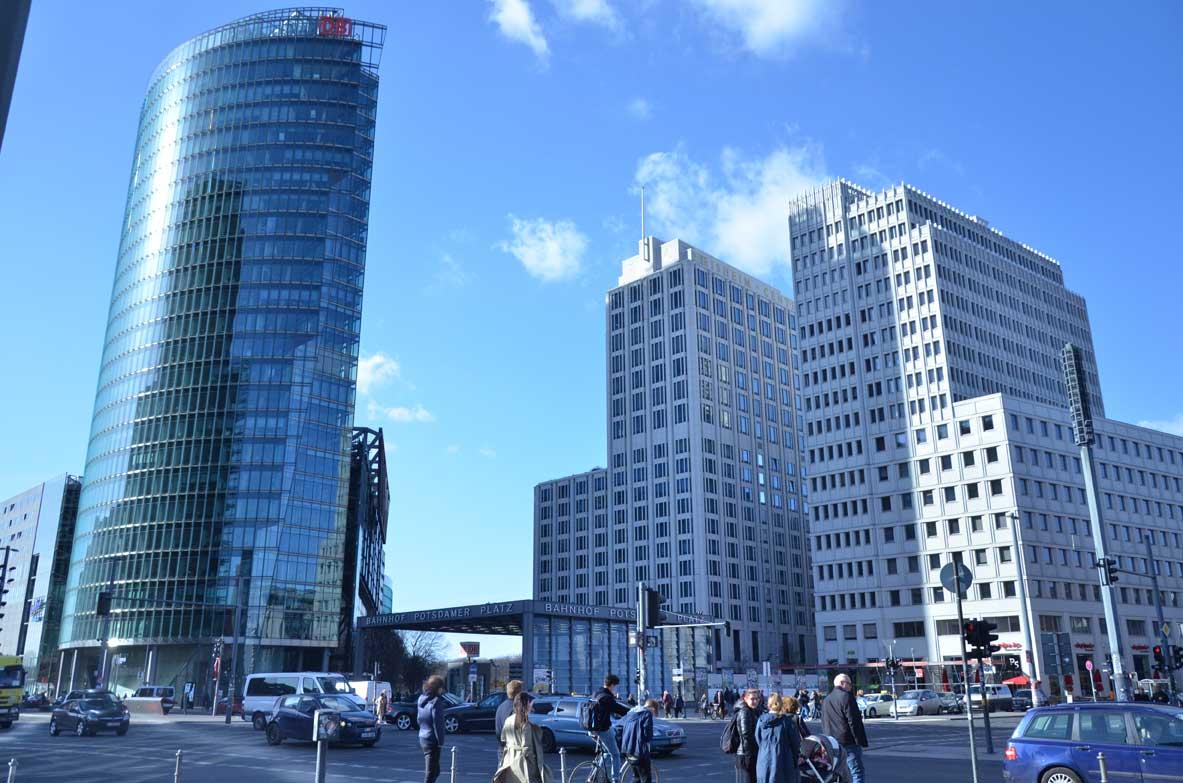 palazzi moderni a Berlino