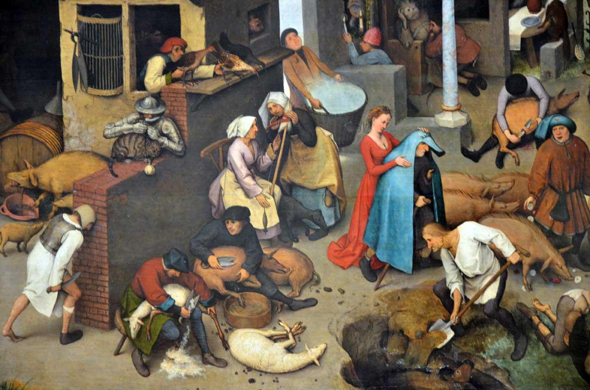 Musei di berlino proverbi-olandesi,-brughel,-gemaldegalerie