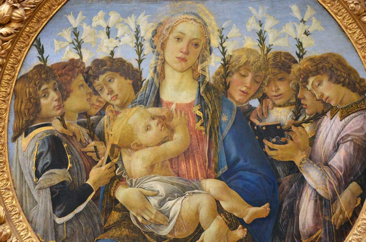 Musei di Berlno tondo-Raczynski,-botticelli-gemaldegalerie
