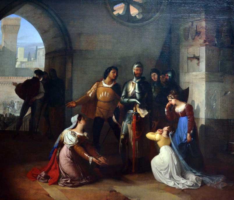 pinacoteca di brera, opere di hayez