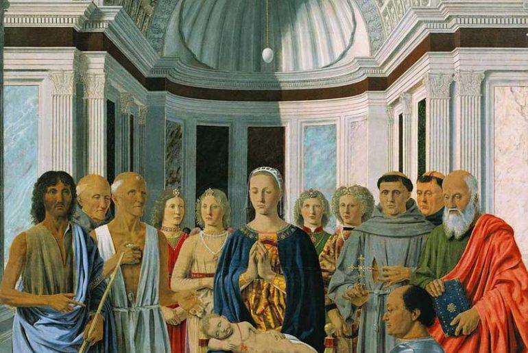 la sacra conversazione di piero della francesca