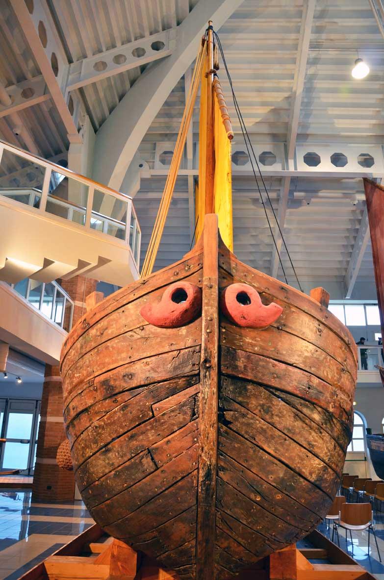 Antica barca dei pescatori del '900