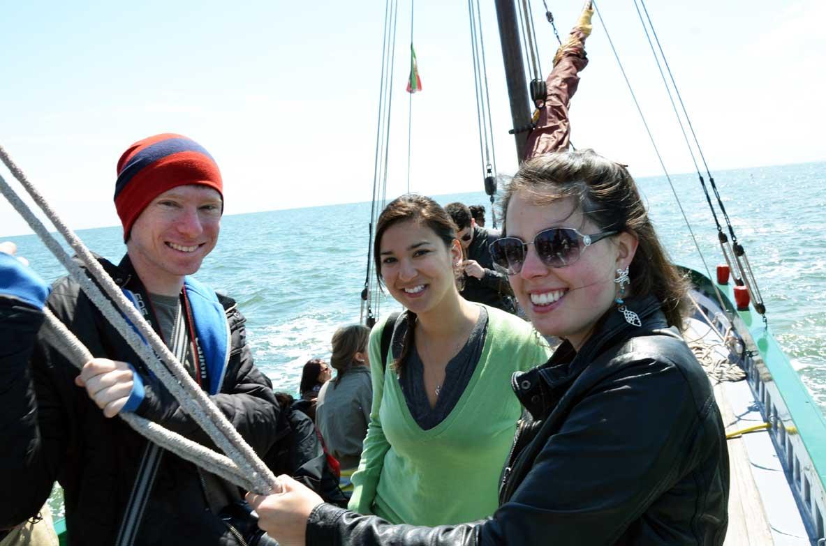 escursione in barca in adriatico