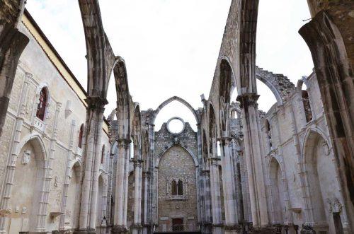chiesa do carmo lisbona