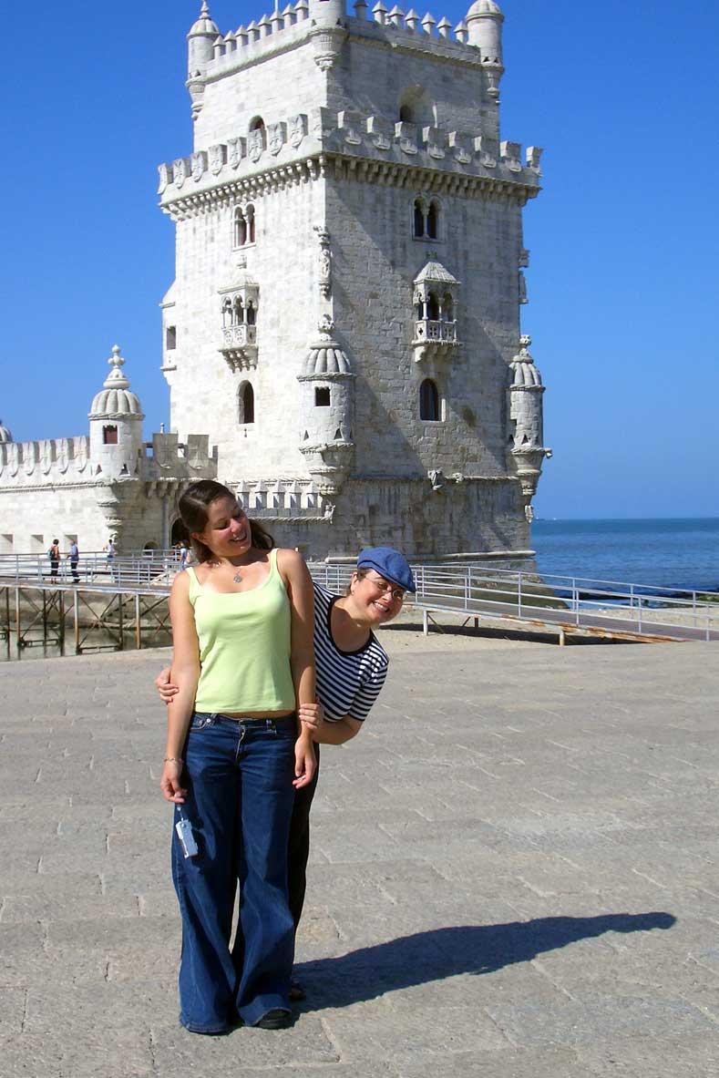 la scorsa volta a Lisbona con mia zia, quando avevo 16 anni!