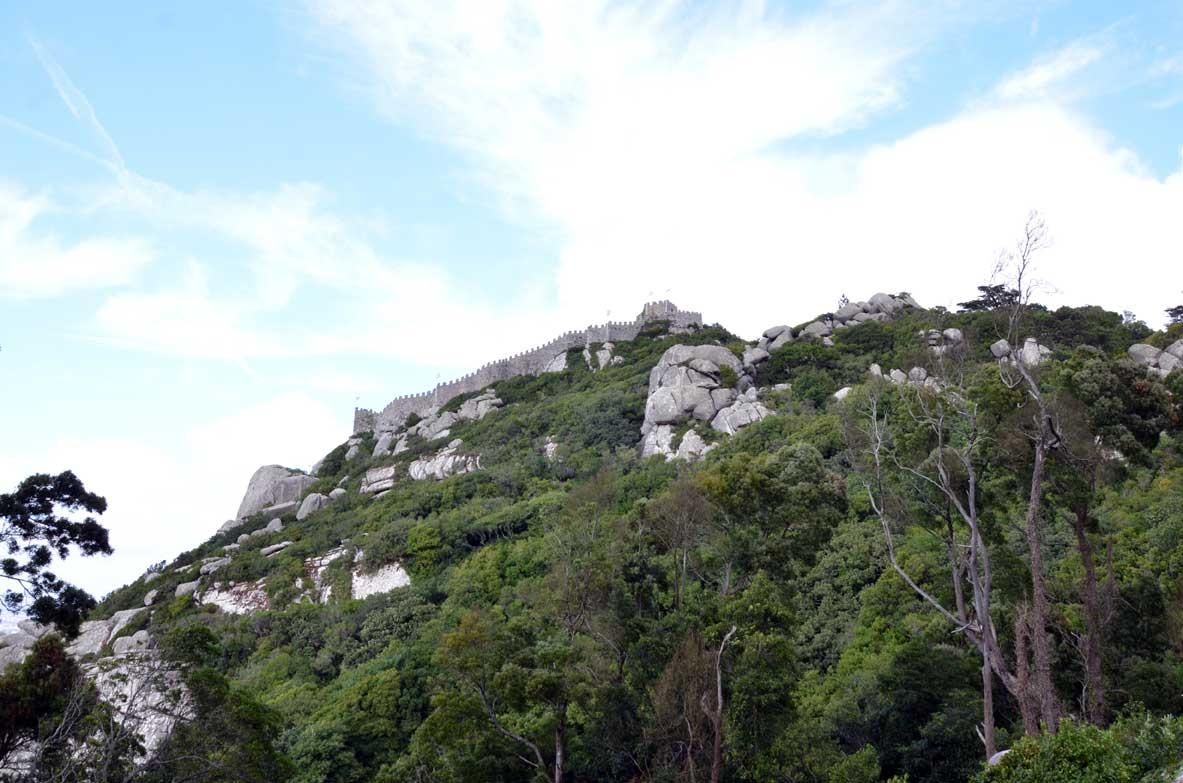 castello dei mori a Sintra