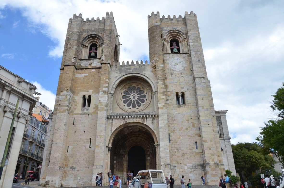la cattedrale di lisbona