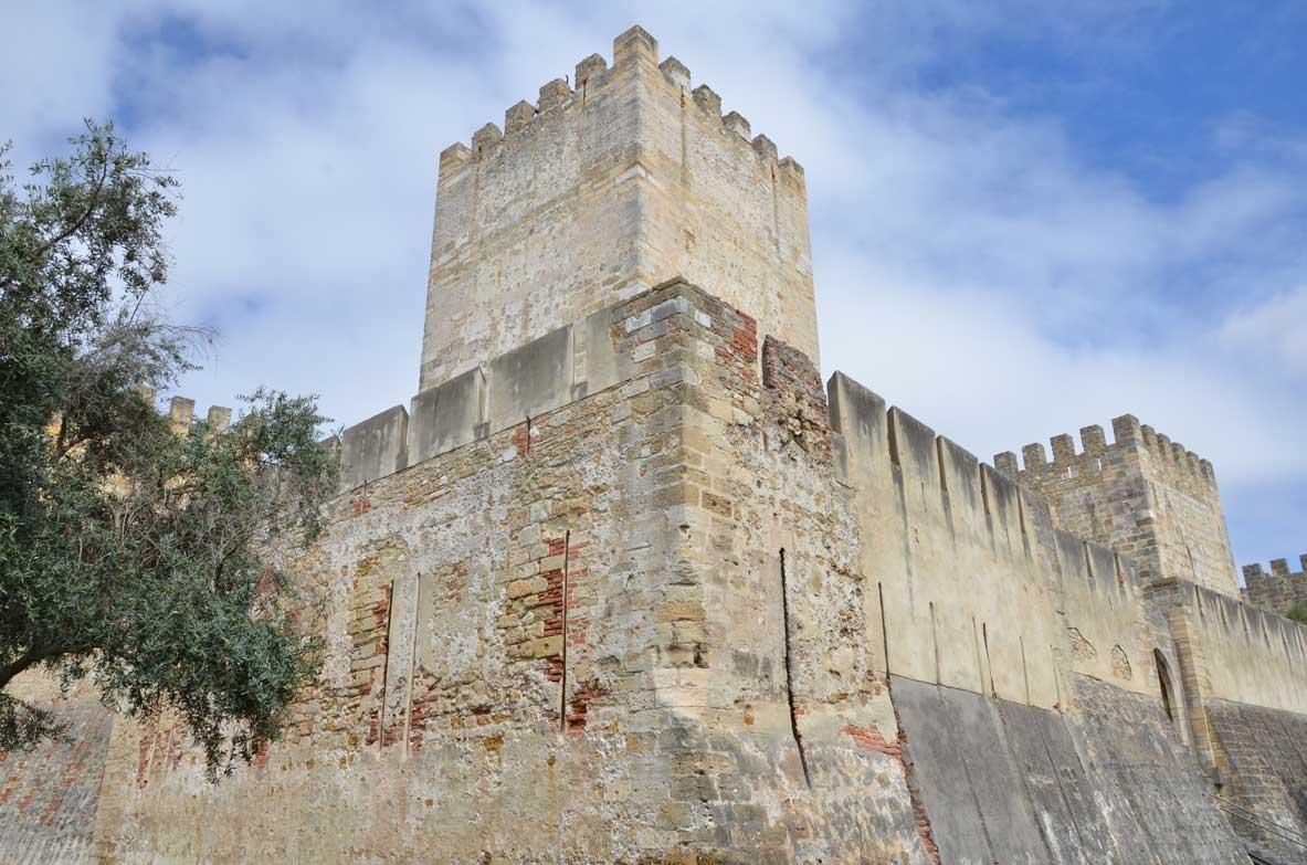il castello di lisbona