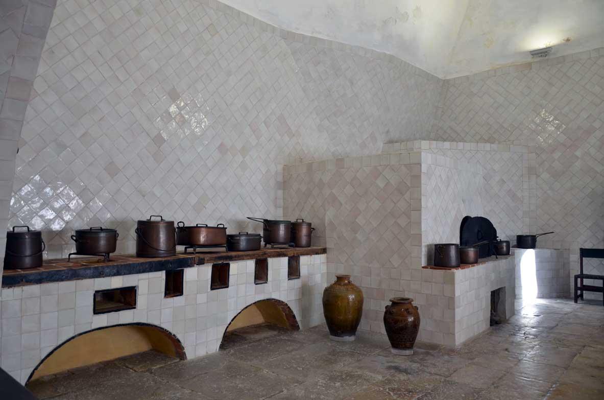 cucine del palazzo nazionale di sintra