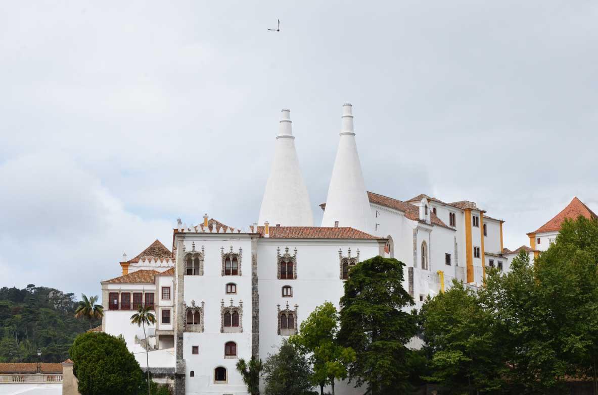 palazzo nazionale di Sintra, esterno