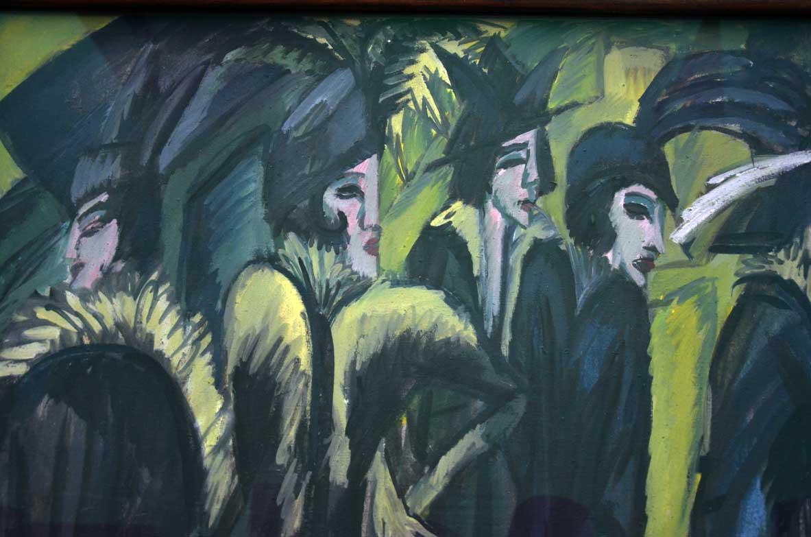 cinque donne per strada di Kirchner
