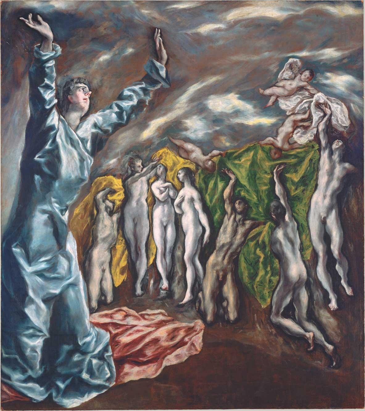 Apertura del quinto sigillo, La visione di San Giovanni