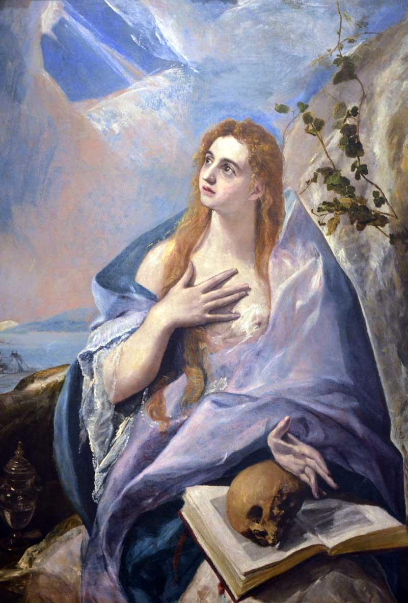 Maddalena penitente di El Greco