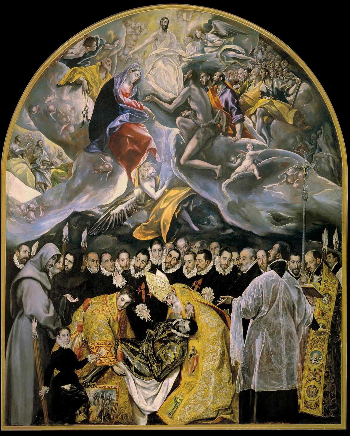 La sepoltura del conte Orgaz el Greco
