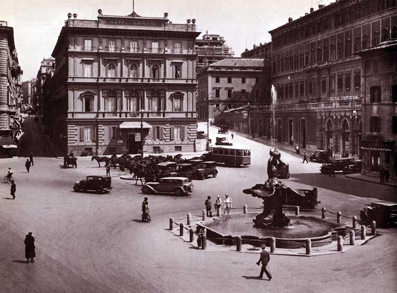 Piazza_Barberini-foto-d'epoca