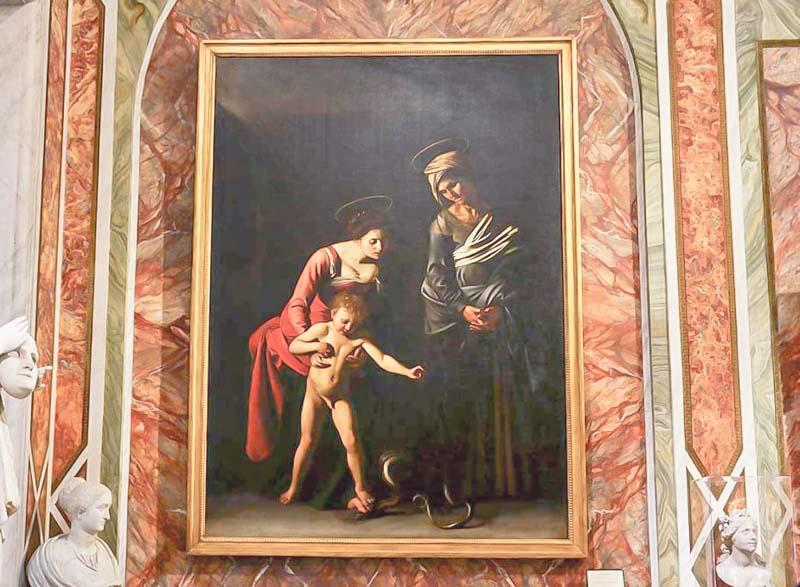 galleria borghese madonna dei palafrenieri