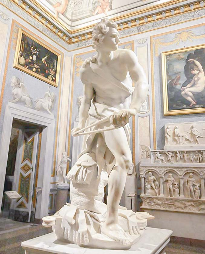 galleria borghese david di bernini
