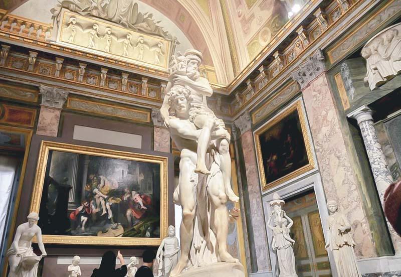 galleria borghese Enea, Ascanio e Anchise
