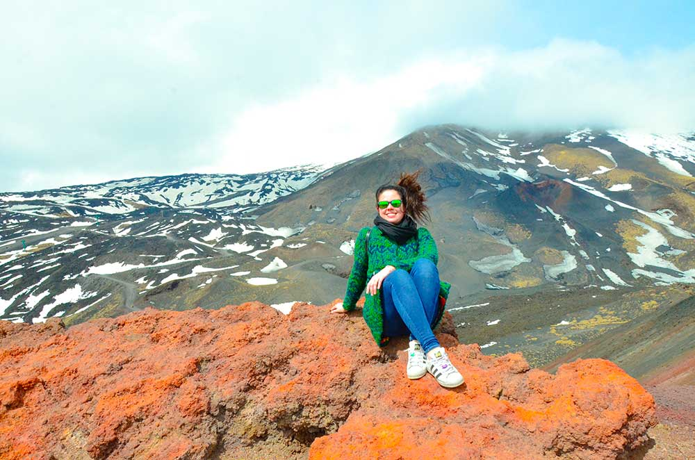 salire sull'Etna